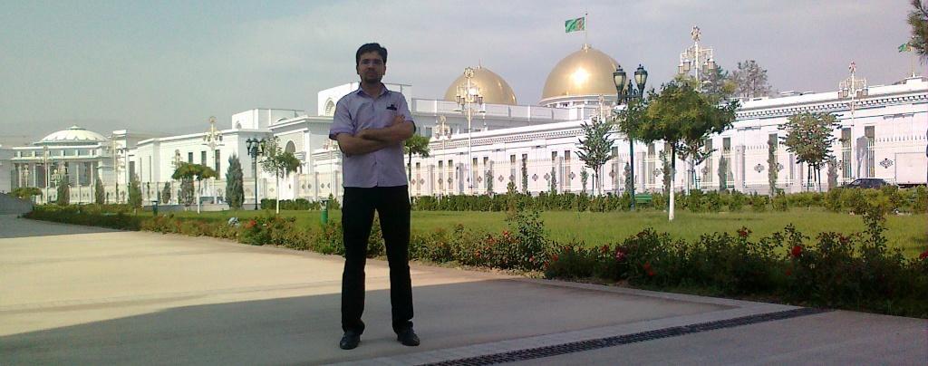 کاخ ریاست جمهوری ترکمنستان